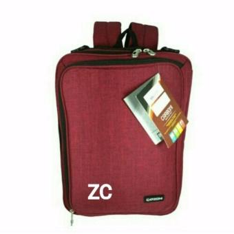 Tas Carboni 3in1 MA00045 -ZV Red +tempat laptop 14 inchi