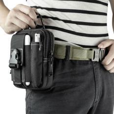 Tas Pinggang Outdoor Tactical Waist bag Molle Pouch