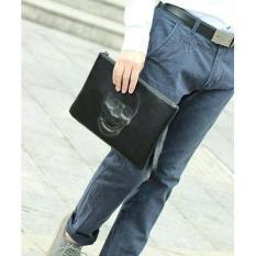 tas tangan/ clutch tengkorak
