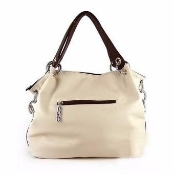 ... Tas tangan wanita tas bahu kulit mati utusan crossbody bag putih - Internasional - 3 ...