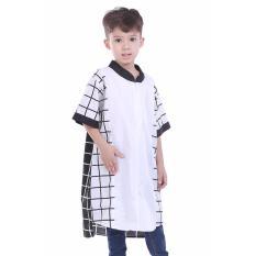 TDLR Baju Muslim Anak Laki-laki / Baju Koko Anak Laki-laki - Bahan Cotton - BW Square Kurta - TGG 1112