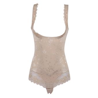 Beli Terusan Perempuan Pinggul Membentuk Pinggul Pas Badan Pakaian Dalam Tidak Berbekas Tubuh Mematung Pakaian (Warna kulit) Murah