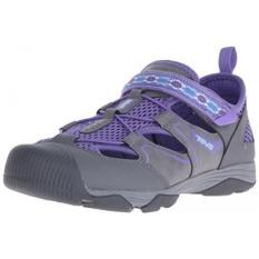 Teva Rollick Outdoor Shoe, Grey/Ungu-T, US Big Kid-Intl