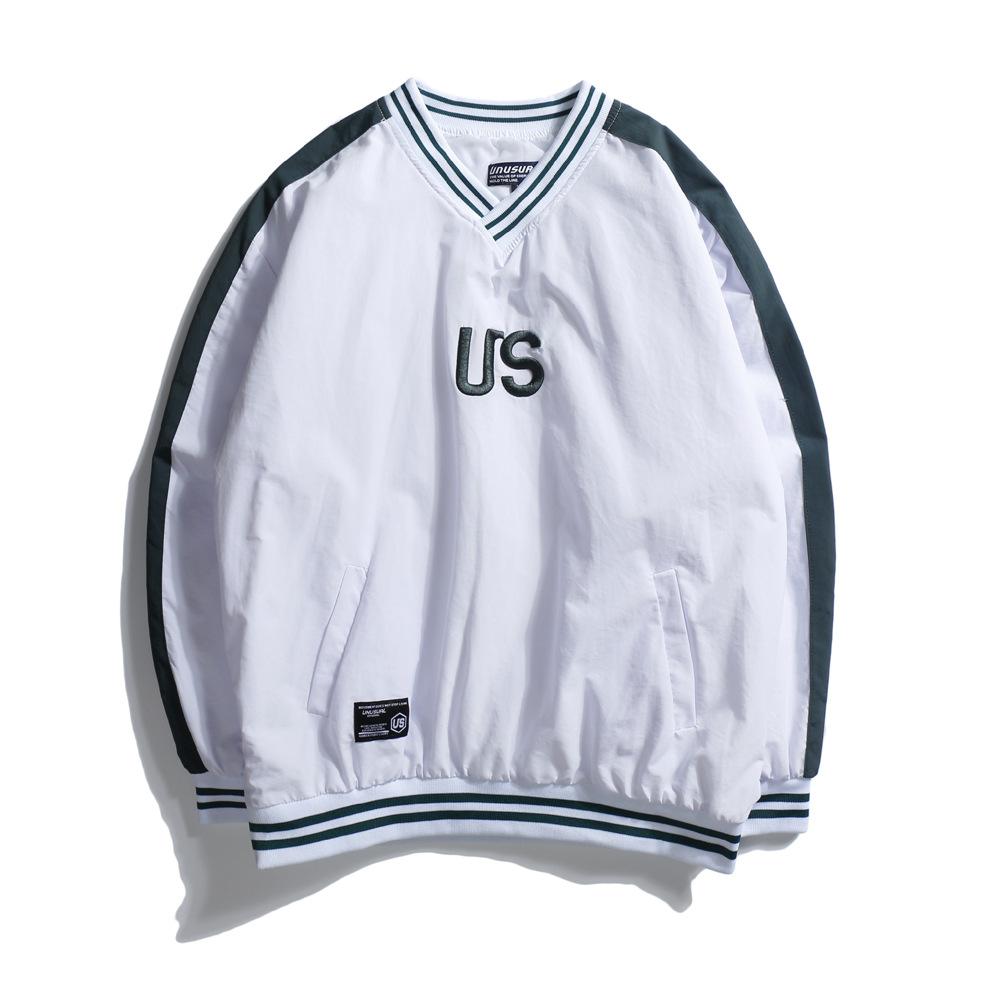 Bandingkan Toko Tide merek Jepang bordir huruf warna mantra pullover ... 914af4b1ab