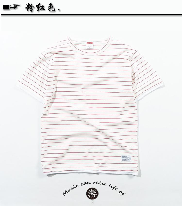 ... palsu dua tujuh poin kemeja t-shirt. Source · musim panas pria denim lengan pendek kemeja (Retro biru). Source .