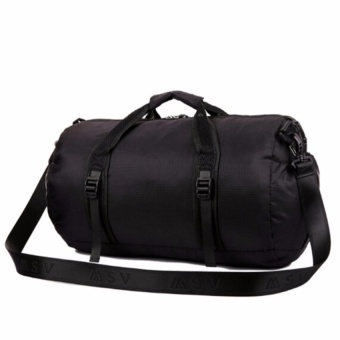 Top rate Womens Nylon Travel Duffle Bag Gym Tote Satchel Messenger Shoulder Sports Bags - intl