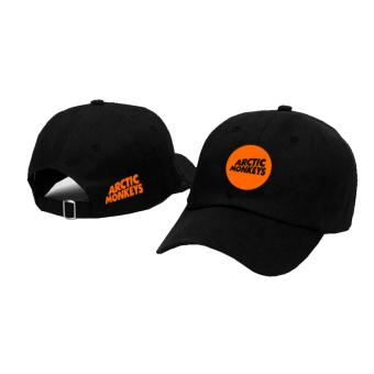 Topi Baseball Artic Monkey Orange Black Premium