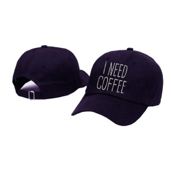 Topi Baseball I Need Coffee - Nevy Premium