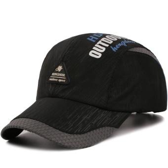 Topi baseball pria wanita model hip hop edisi Han yang memiliki ventilasi  udara untuk dipakai di 614cf67d6e