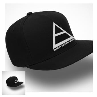 TOPI SNAPBACK Thirty Second To Mars BLACK PREMIUM