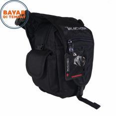 Tracker Tas Selempang Tas Pinggang Tas Paha 3in1 4140-08 Nylon Original - Black
