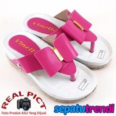 TrendiShoes Sandal Anak Perempuan Pita VNK01IDR48210. Rp 48.210