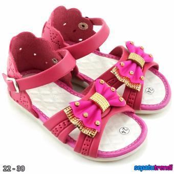 Fitur Trendishoes Sepatu Anak Perempuan Slip On Variasi 3 Tali ... b92e35b23f