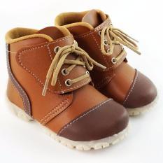 TrendiShoes Sepatu Boot Anak Bayi Laki-Laki Keren BTLV - Tan