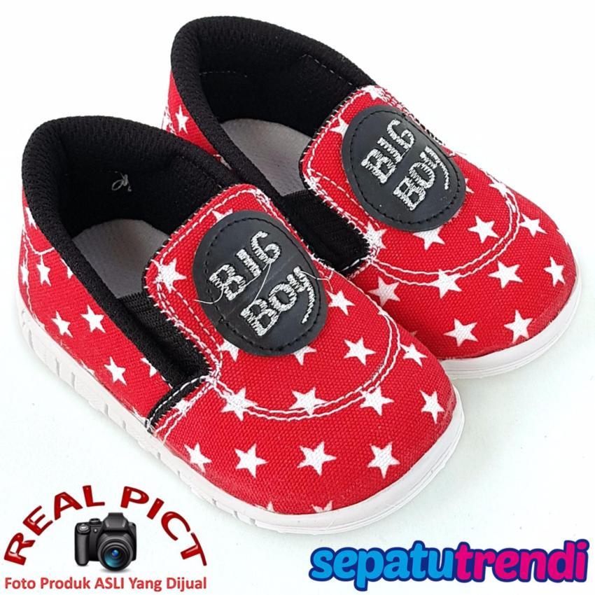 TrendiShoes Sepatu Bunyi Anak Cowo Big Boy 031BB - Merah