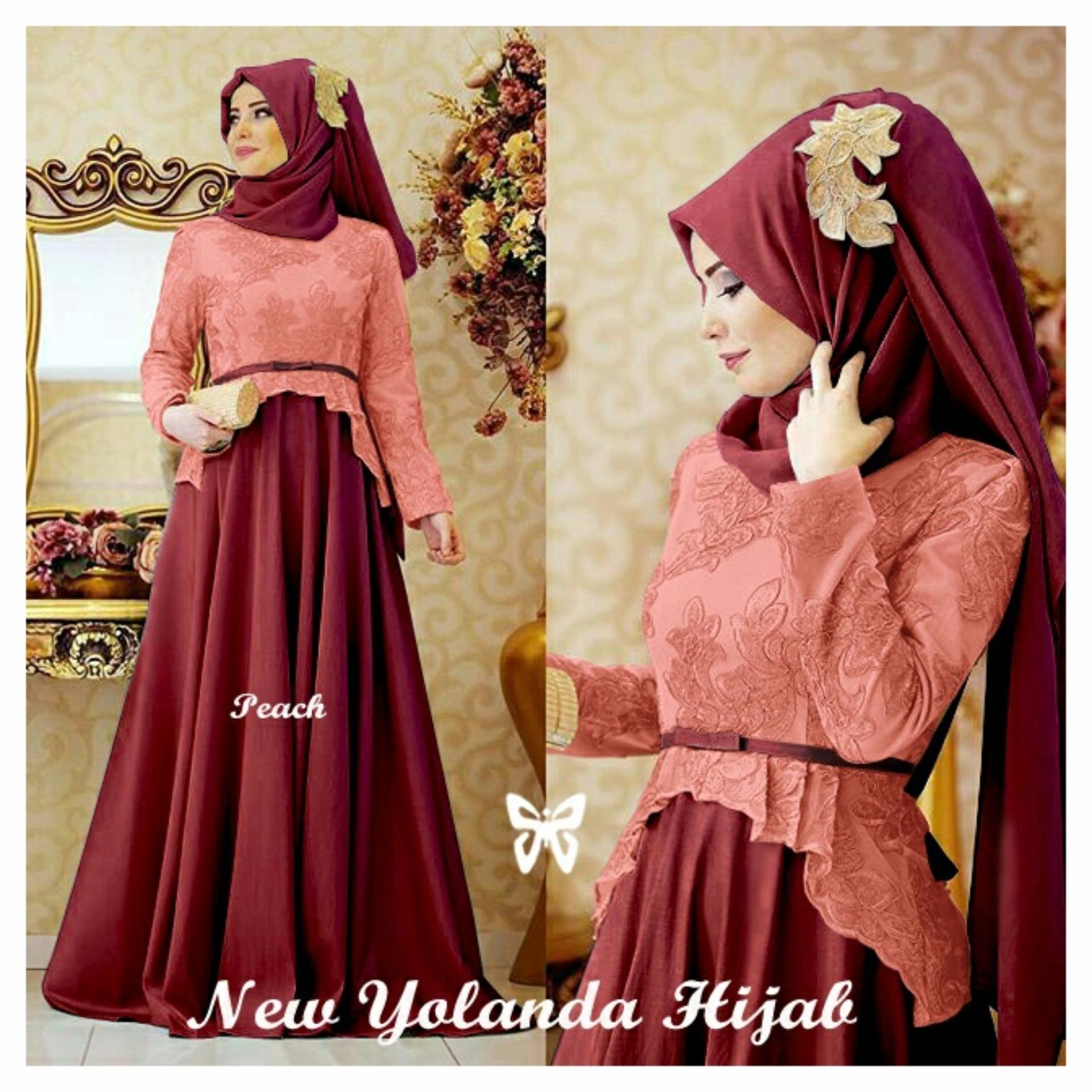 UC Best Seller Dress Gamis Muslim Amirah Hijab Syari Syar