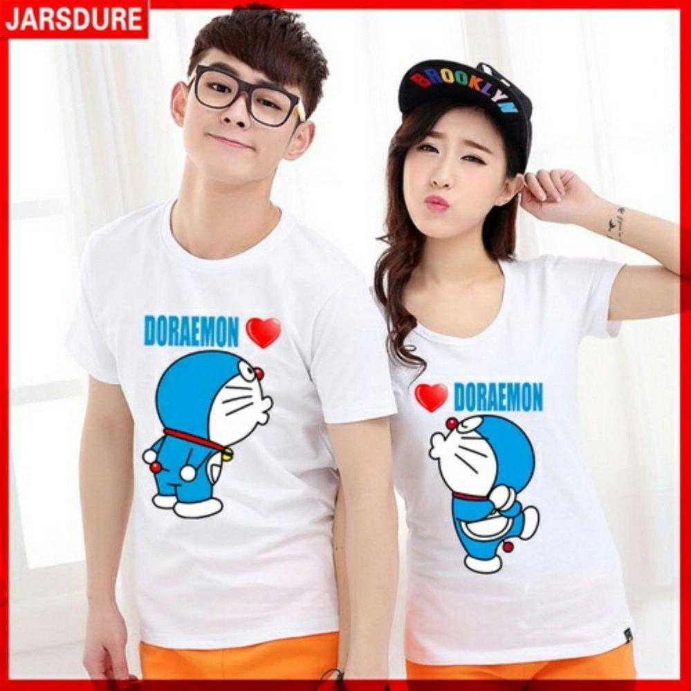 UC Kaos Couple Doraemon / Kaos Oblong Fans Club / Kaos Pasangan / Tshirt Pasangan /