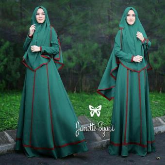 UC Set Muslim Imelda / Gamis Syari Syar'i Fashion Maxi / Syari Simple Elegant