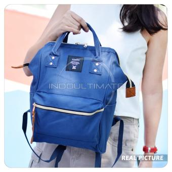 Ultimate Tas Anello Medium 2in1/Backpack/Tas Jinjing/Tenteng/RanselImport FS-90546 - Blue