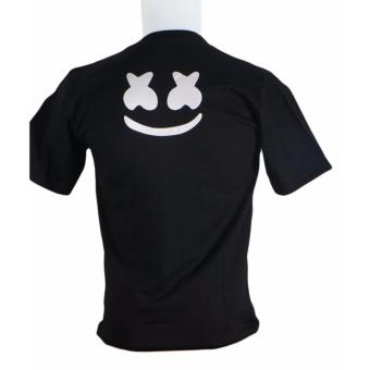 ... Detail Gambar Vanwin Kaos T Shirt Distro Premium MarshMellow Body Hitam Terbaru