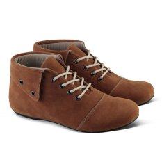 Varka Sepatu Boot Casual Sneakers Wanita 210 - Coklat