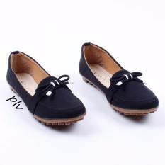 Vasco Sepatu Flat Shoes Loafers BV01 - Hitam