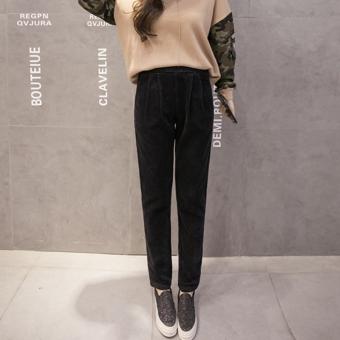 ... topi. Source · Hot Deals Versi Korea dari corduroy musim semi dan musim gugur longgar celana panjang celana corduroy
