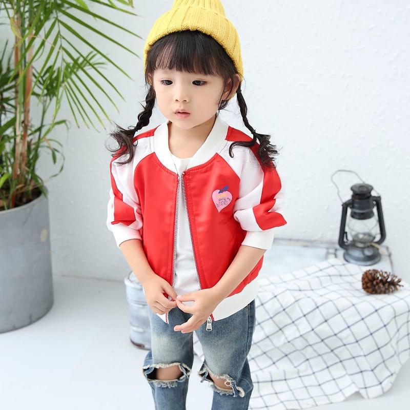 Flash Sale Versi Korea dari musim gugur baru pakaian anak-anak perempuan jaket kemeja (