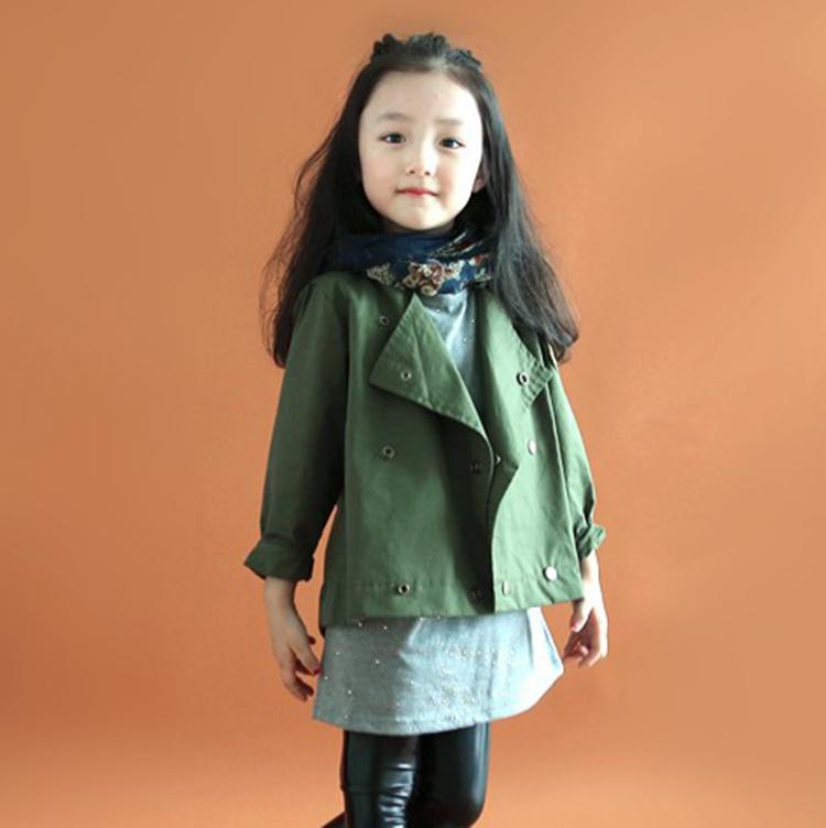 ... Baru Jaket Katun Anak Source · Cheap online Versi Korea dari musim semi dan musim gugur perempuan jaket jaket seragam jaket Hijau