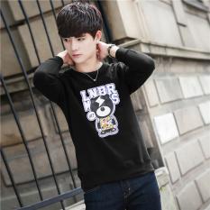 olahraga kasual jaket berkerudung sweater (Abu-. Source · Versi Korea .