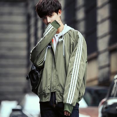 Flash Sale Versi Korea yang baru lengan panjang luar tampan jaket mantel musim gugur (Tentara