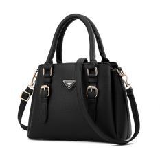 Vicria Tas Branded Wanita - Korean High Quality With Exclusive Design - BLACK