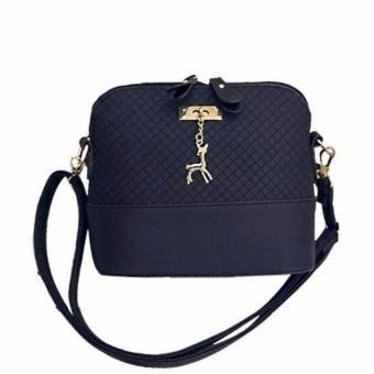 Vienna Linz Tas Selempang Wanita Kulit Leather Bags Simply Belle - Hitam