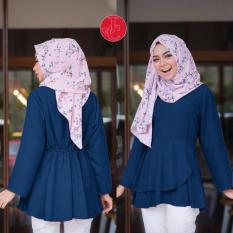 Vrichel Collection Blouse Ayana (Navi)