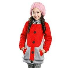 Vrichel Collection Jaket Anak Kitty (Merah)