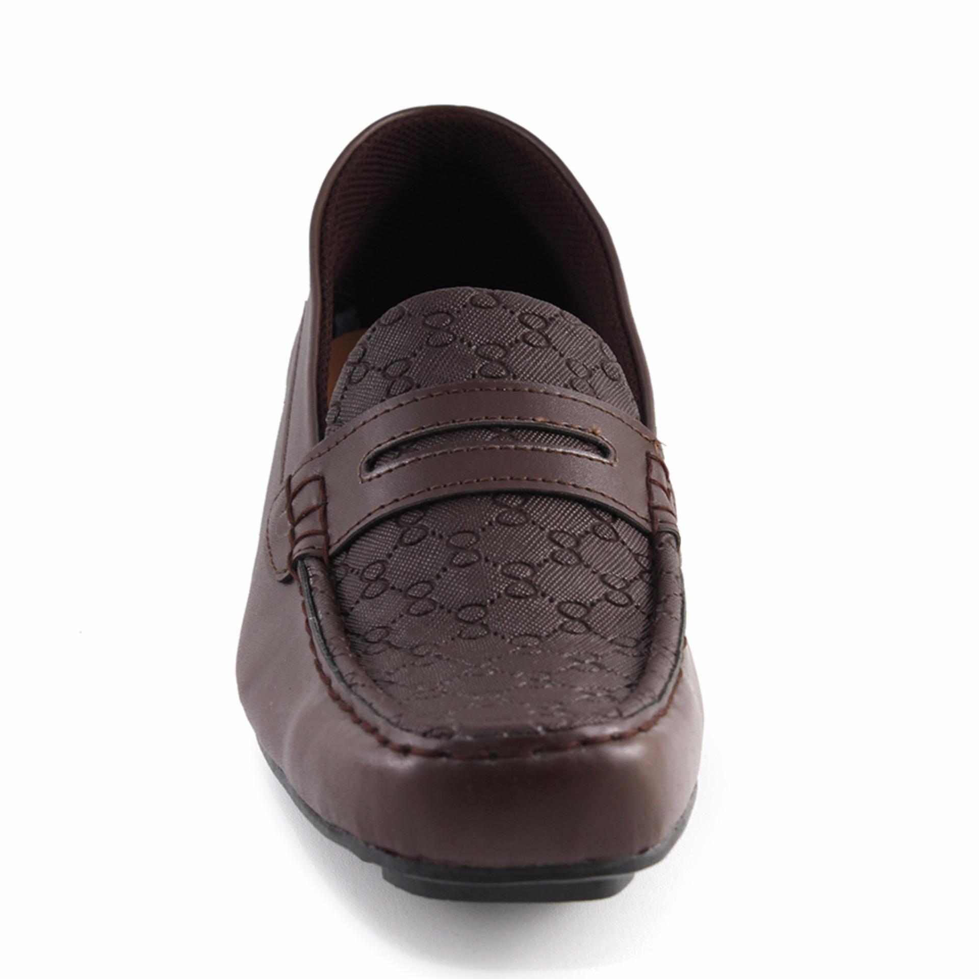 Sepatu Casualformal Pantofel Priawanita Almost Glosy Coklat Dksh New Arrival Sendal Tali Trendy Wanita Dknz 378 Walkers Italian Mocasin Pria Casual Formal Slip On