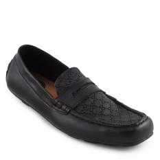 Walkers Spain Loafers Sepatu Casual Slipon Pria - Hitam