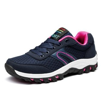 Harga Wanita Olahraga Sepatu Menjalankan Manis Sepatu Casual Shoes  WomenOutdoor Sports Shoes Sweet Running Shoes intl Terbaru klik gambar. 0354bfd319