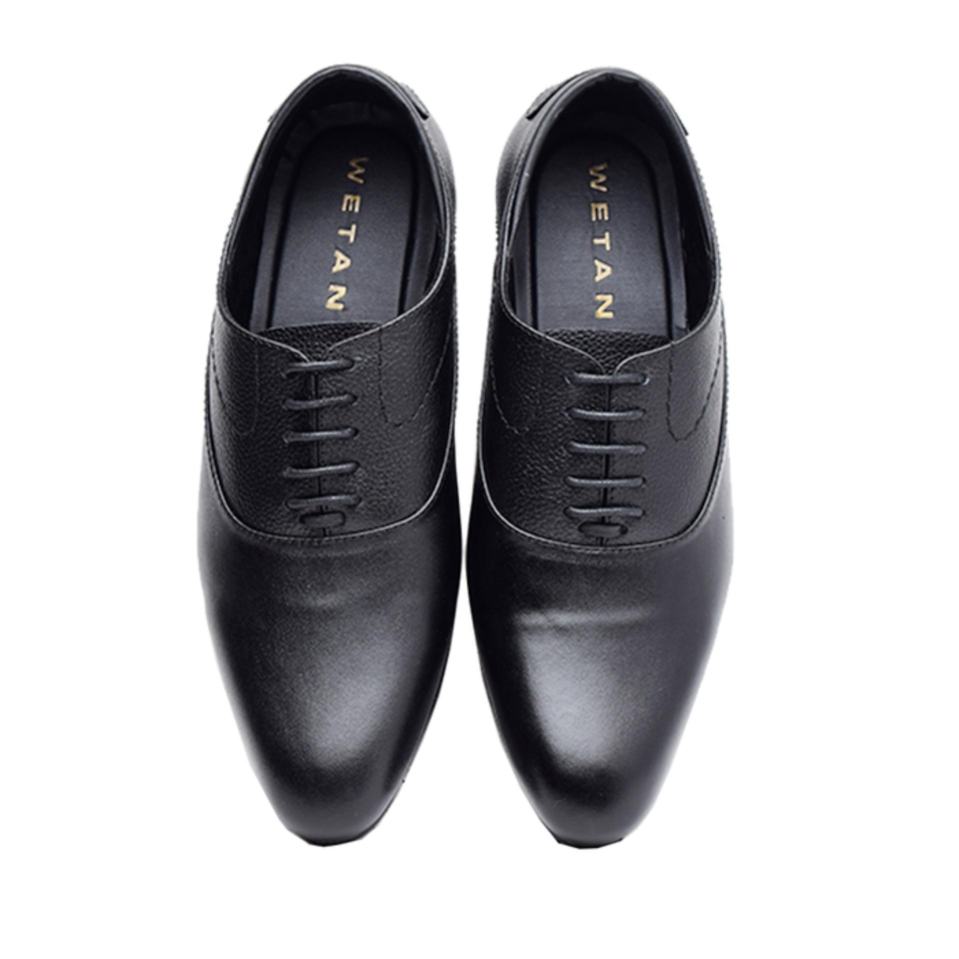 Wetan Shoes Sepatu Formal Pantofel Pria Premium Big Size 44