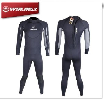 Harga Winmax Man Neoprene Diving Sport Wetsuits Full Body Sports SkinsFull Body Sports Skins - intl