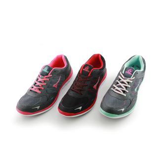 Women Estelle Hitam Merah Woman Running Shoes - 4