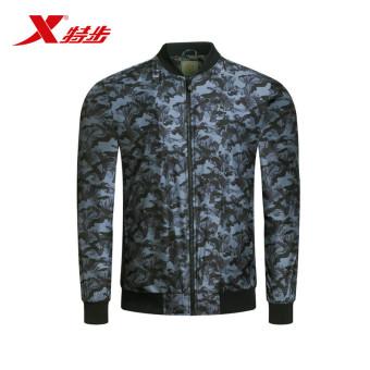 Jual Xtep busana musim semi baru pria jaket (Hitam) (Hitam) Online