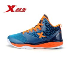 Xtep official authentic 2017 new basketball shoe comfortable lightdamping antiskid wear men's professional sports shoes -