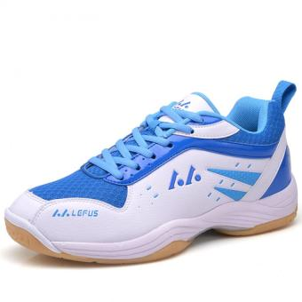 YAER Sejuk Badminton Pria Sepatu Putih