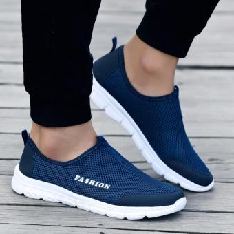 YEALON Slip-On Sneaker Mens Krasovki Men Mens Sports Shoes RunningSneakers Men Krasovki Tenisky Men'S Sneakers Size - intl - 2