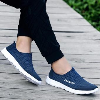 YEALON Slip-On Sneaker Mens Krasovki Men Mens Sports Shoes RunningSneakers Men Krasovki Tenisky Men'S Sneakers Size - intl - 5
