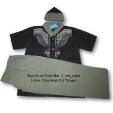 ym_store Setelan Baju Muslim Koko Anak Laki-Laki