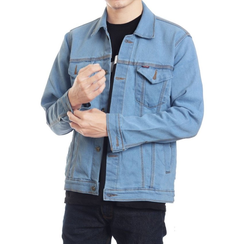 Y'nkers Merch Jaket Jeans Denim Men's - Bioblitz
