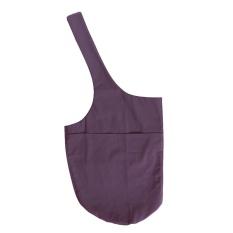 Yoga Mat Bag Yoga Mat Tote Sling Carrier Large Side Pocket & Zipper Pocket - intl