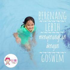 YooBerry Cuddle Me Go Swim Baju Renang Auto Terapung / Floating Swimsuit Green